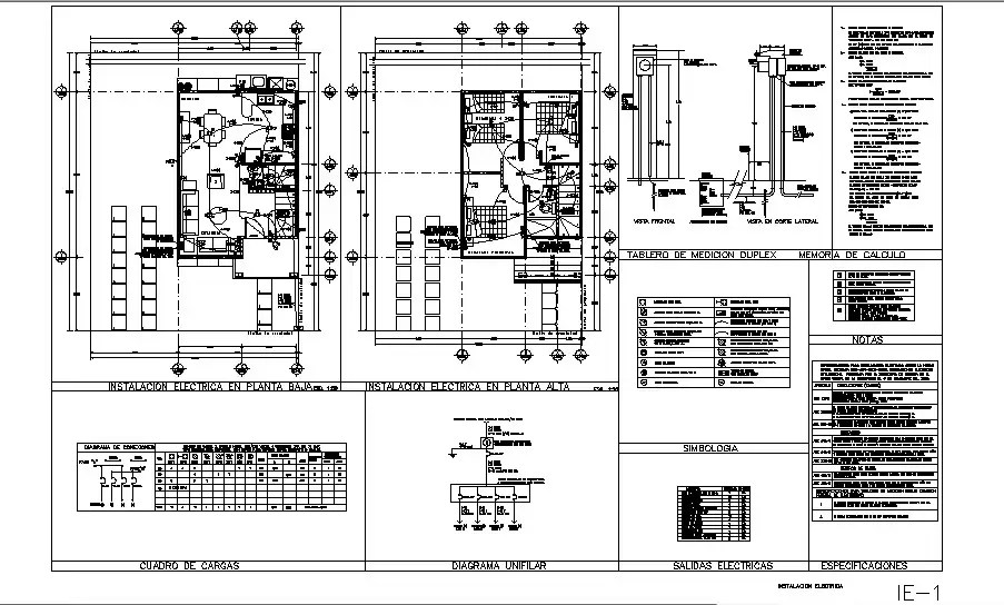 Electrical layout plan and floor plan details of house dwg