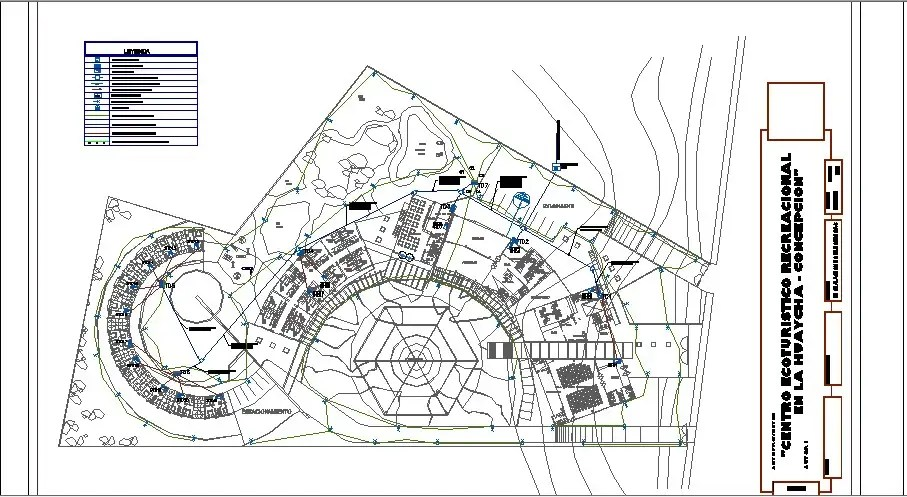 Electrical layout plan details of hotel building cad