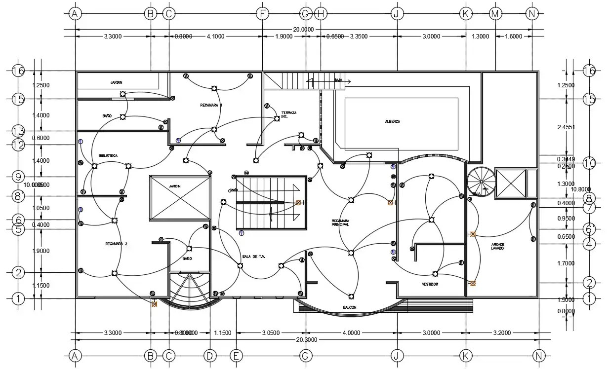 Electrical floor plan specified in this file. Download