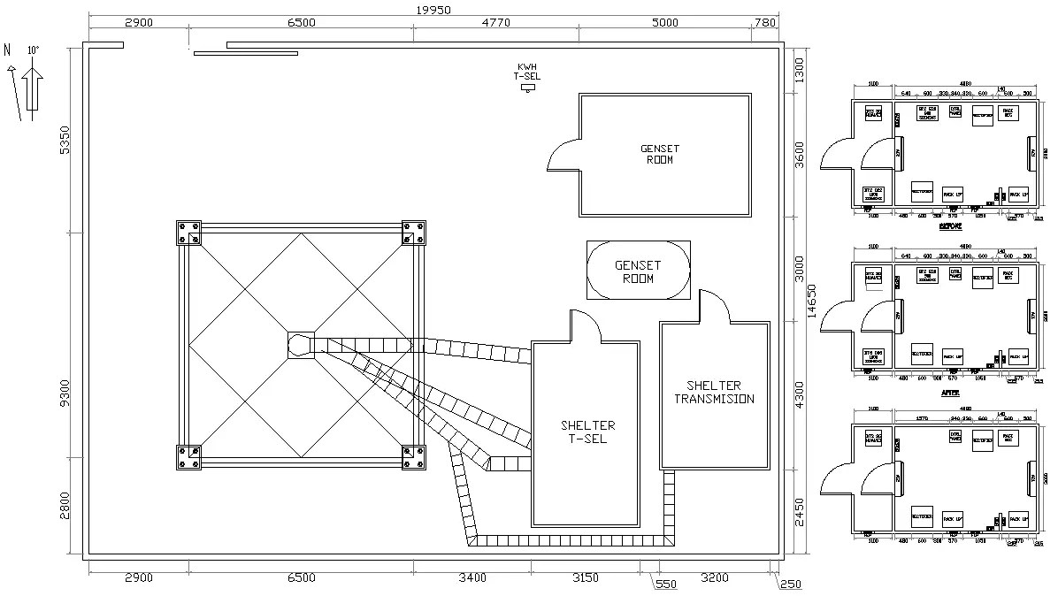 Equipment Technical room design drawing,Download CAD DWG
