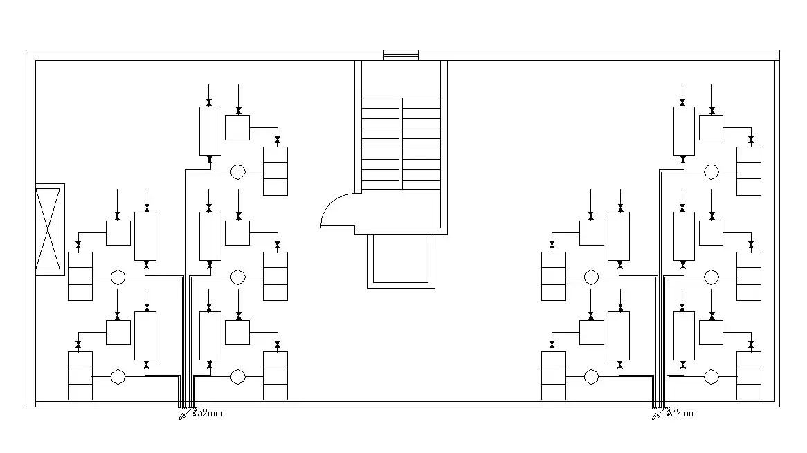 Free Download Residential Terrace Floor Plan AutoCAD File