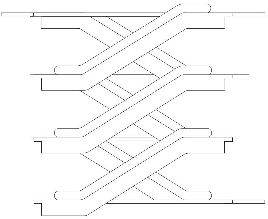 Multi-Level Elevation Units Elevation Design AutoCAD