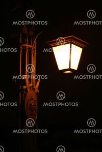 """old electric street lamp, l..."" by Mikhail Kokhanchikov ..."