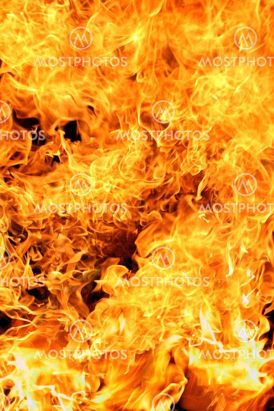 blazing fire background by