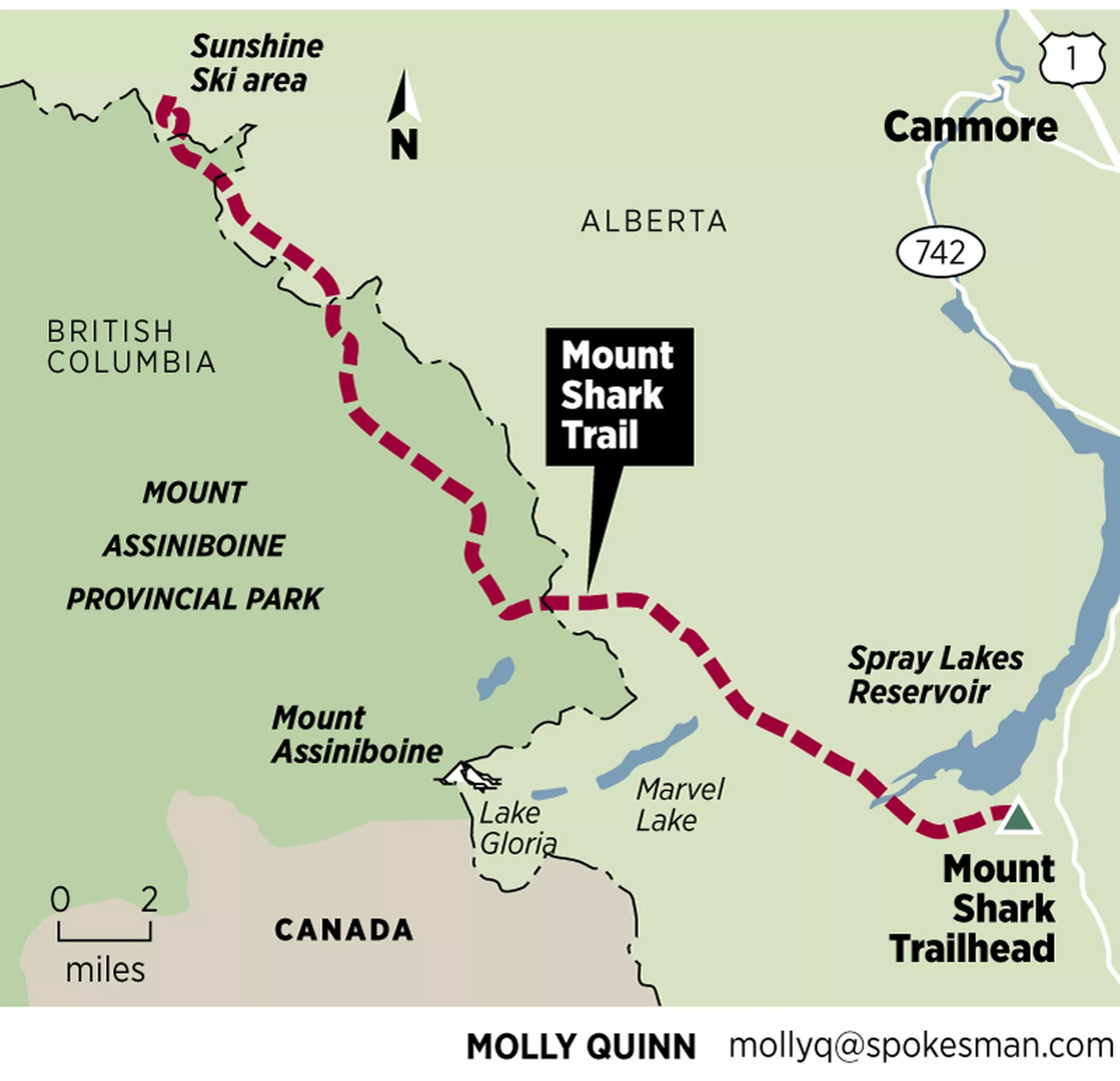 These hiking trails are accessed most often. The Magic Of Mount Assiniboine Brings Diverse Crowd To Canadian Rockies The Spokesman Review