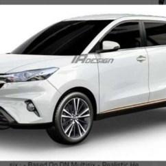Grand New Avanza Terbaru Spesifikasi All Alphard Tampang Spekulasi Toyota Viva Rendering Dn Multisix Versi Produksi Kabarnya Penerus Xenia Ilustrasi