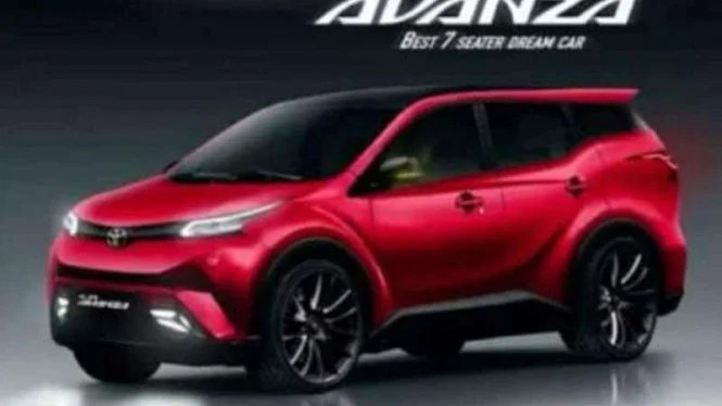 Gambar Avanza Terbaru Viral Toyota Angkat Suara  VIVA