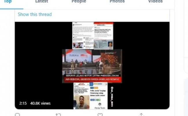 M Nuh Pemenang Lelang Motor Jokowi Rp2 5 Miliar Viral