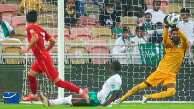 Pertandingan Arab Saudi vs China dalam Kualifikasi Piala Dunia 2022