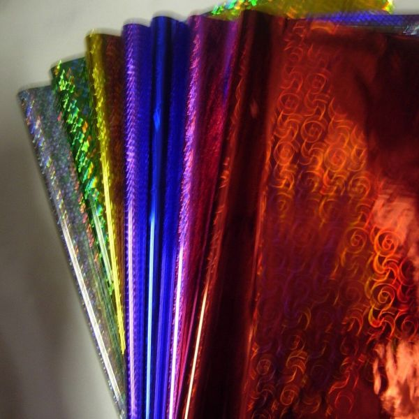 Metallic Gift Wrapping Paper 50cmx70cm In Silver, Gold ...