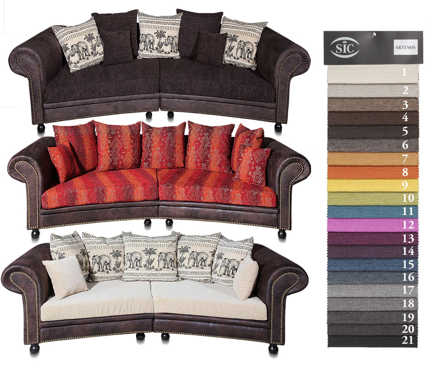 Big Sofa Sessel Couch Big Sofa Hawana 3 Mit Schlaffunktion