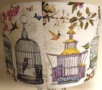 Vintage Birdcage Lamp shade shabby chic french Fatta da ...