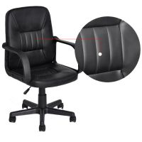 Black Swivel Office Computer Desk Home Furniture Chair in ...