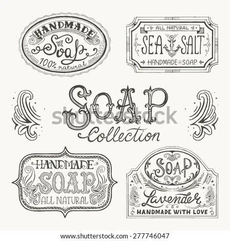 Handmade Soap Clip Art