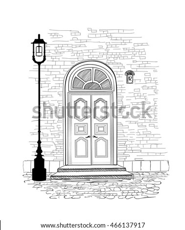 House Line Drawing Stock Images, Royalty-Free Images