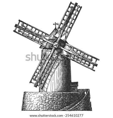 Grinding-mill Stock Images, Royalty-Free Images & Vectors