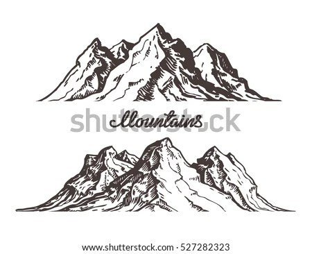 Mountains Vector Stock Images, Royalty-Free Images