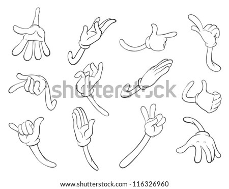 Cartoon Arms And Legs Clip Art