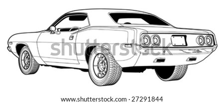 Muscle Car Stock Images, Royalty-Free Images & Vectors