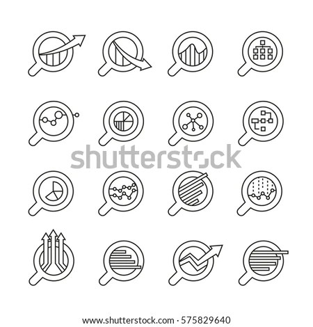 3 Circular Process Diagram Business Flow Stock Vector