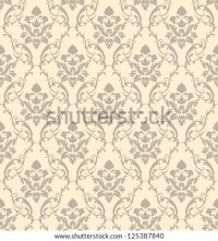 Simple Victorian Wallpaper Pattern