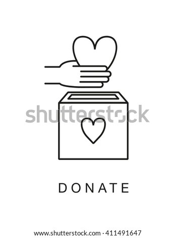 Donate Donation Charity Stock Images, Royalty-Free Images