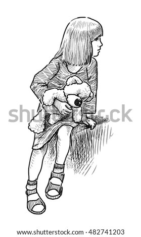 Alone Girl Stock Images, Royalty-Free Images & Vectors