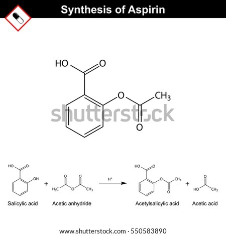 Chemical Makeup Of Aspirin