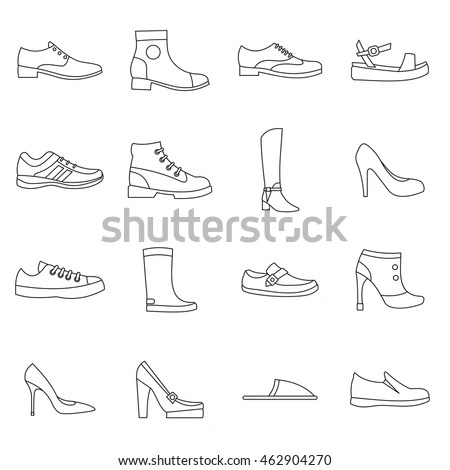 Foot Wear Stock Images, Royalty-Free Images & Vectors