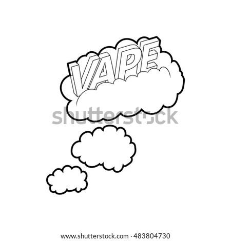 Vape Cloud Stock Images, Royalty-Free Images & Vectors