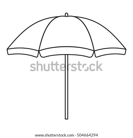 Umbrella Outline Stock Images, Royalty-Free Images