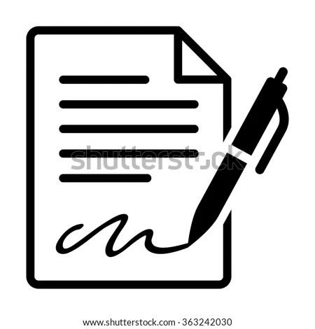 Affidavit Clip Art