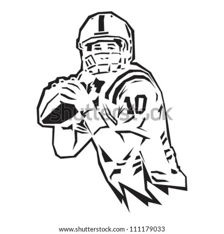 Quarterback Throwing Stock Images, Royalty-Free Images