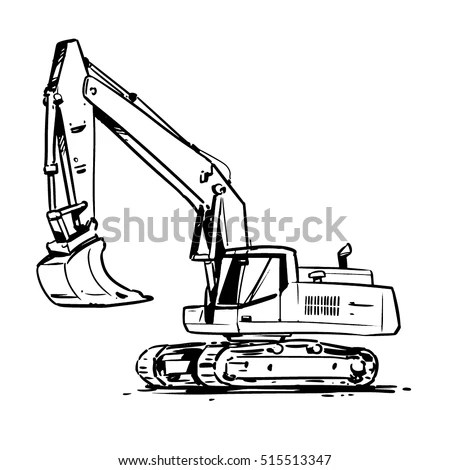 Excavator Stock Images, Royalty-Free Images & Vectors