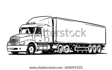 Semi-trailer Stock Images, Royalty-Free Images & Vectors