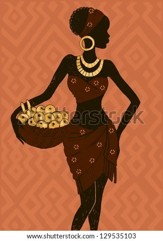 African Woman Silhouette Stock Images Royalty Free Images