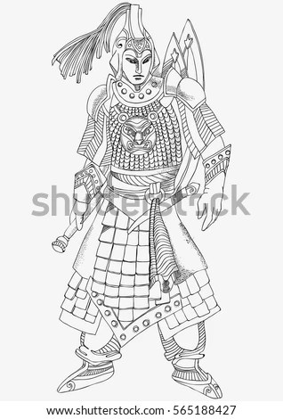 Chinese Warrior Stock Images, Royalty-Free Images