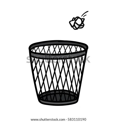 Waste Basket Stock Images, Royalty-Free Images & Vectors