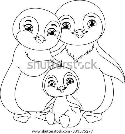 Penguin Family Stock Photos, Royalty-Free Images & Vectors