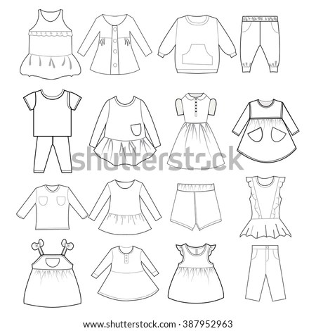 Clothes Silhouette Stock Images, Royalty-Free Images