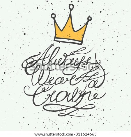 Crown Doodle Stock Images, Royalty-Free Images & Vectors