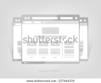 Facebook Web Page Browser Concept Social Stock Vector ...