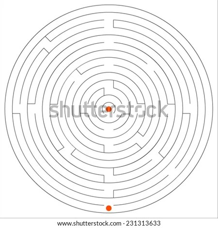 Round Maze Stock Images, Royalty-Free Images & Vectors
