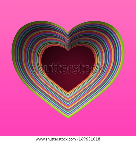 Rainbow Heart Clipart Stock Photos Images Pictures