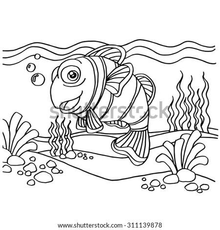 Fishing Logo Bass Fish Club Emblem Stock Vector 573908830