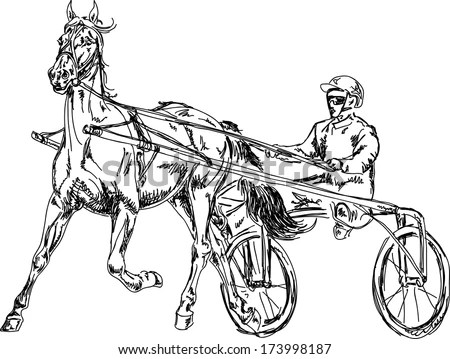 Trotter Race Stock Images, Royalty-Free Images & Vectors