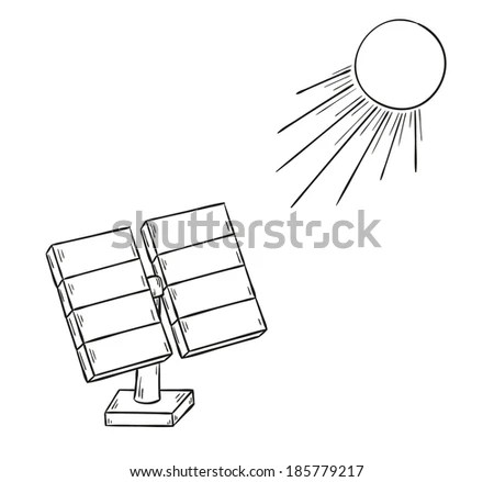 Cartoon Solar Energy Stock Images, Royalty-Free Images