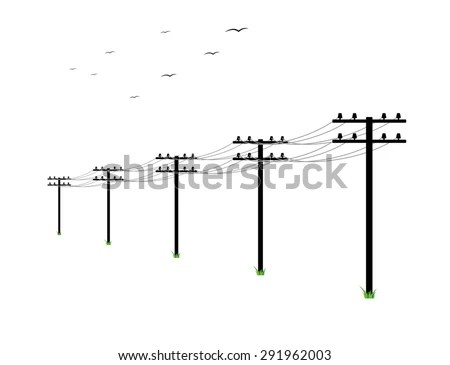 Powerline Stock Images, Royalty-Free Images & Vectors