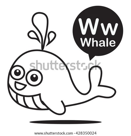 W Whale For Is Stock Images, Royalty-Free Images & Vectors