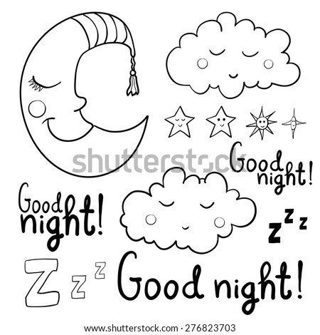 Good Night Stock Images, Royalty-Free Images & Vectors